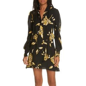 NWT Joie Gyan Silk Dress 0